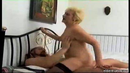 Blonde granny plumper driven hard - scene 8