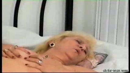 Blonde granny plumper driven hard - scene 10