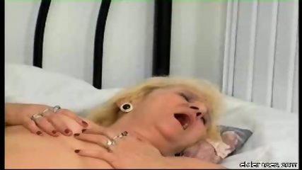 Blonde granny plumper driven hard - scene 11