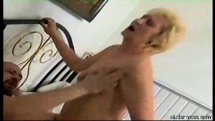 Blonde granny plumper driven hard - scene 5