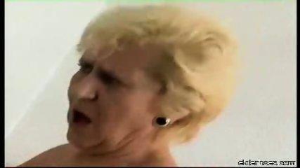 Blonde granny plumper driven hard - scene 7