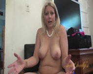 Interview With Naked Mom - scene 9