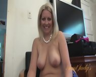 Interview With Naked Mom - scene 11