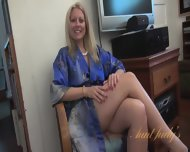 Interview With Naked Mom - scene 3