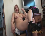 Interview With Naked Mom - scene 6