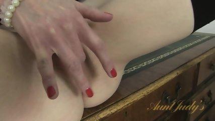 Mature Lady On Desk - scene 10