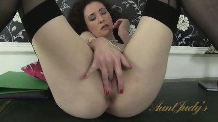 Mature Lady On Desk - scene 12