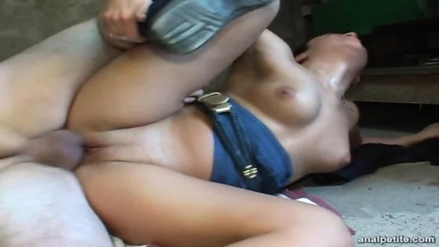 Anal Action In The Workshop
