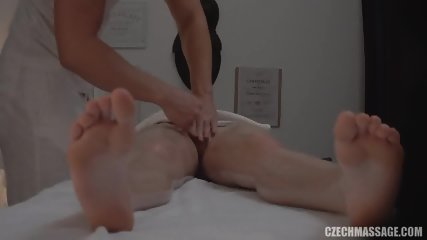 Masseur Satisfies His Customer
