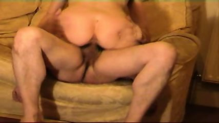 Tit slap, handjob, ride and cum on her breaqsts - scene 6