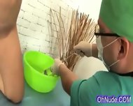 Very Hot Little Blonde Gets Herpussy Fingered By The Doctor