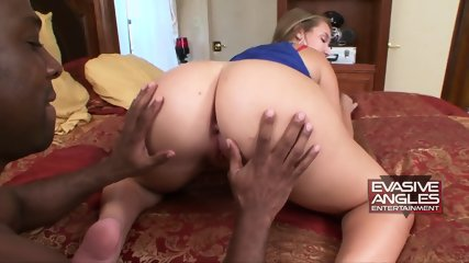 Big Ass Babe Rides Black Dong - scene 6