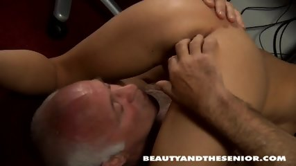 Teenage Maid Takes Old Guy's Dick - scene 11