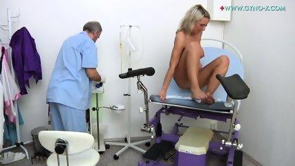 Masturbation During Gyno Exam - scene 11