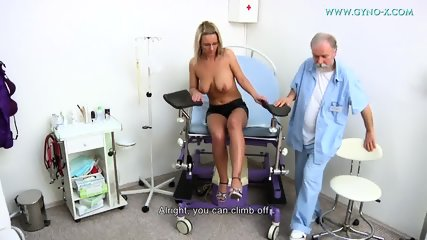 Masturbation During Gyno Exam - scene 2