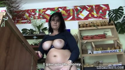 Mature Florist Takes Cock For Money - scene 12