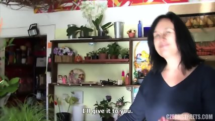 Mature Florist Takes Cock For Money - scene 3