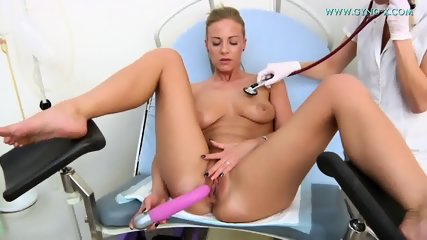 Blonde Girl Visits Kinky Doctor