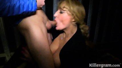 Cougar Sucks Dicks