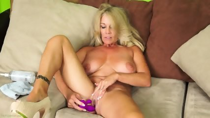 Solo Action By Mature Lady - scene 10