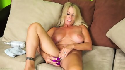 Solo Action By Mature Lady - scene 12