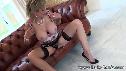 Naked Mature Lady On Sofa - scene 7