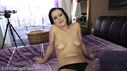 Naughty Mommy Shows Tits And Cunt - scene 11