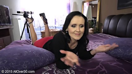 Naughty Mommy Shows Tits And Cunt - scene 2