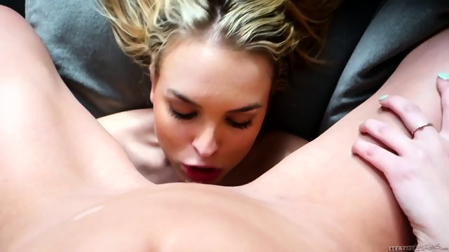 Lesbian Action With Old Friend