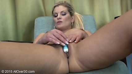 Sexy Young Mom Plays With Toy - scene 12