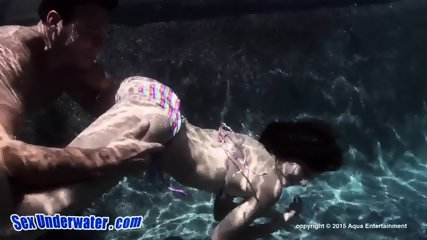 Underwater Dick Licking - scene 1