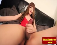 Small Titted Ladyboy Pleasures Herself