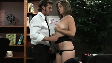 Business Meeting Turns Into Sex On Desk - scene 1