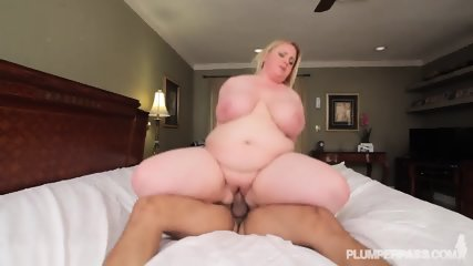 Fat Blonde Likes Sex - scene 9