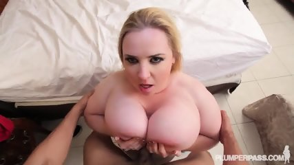 Fat Blonde Likes Sex - scene 6