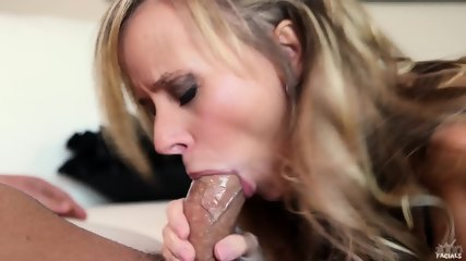 Pretty Blonde With Cock In Mouth