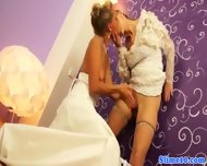 Bukkake Lesbian Brides Cum Covered