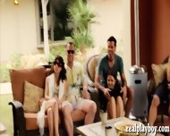 Group Of Kinky Swingers Massive Orgy In Playboy Mansion
