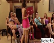 Bunch Of Swingers Enjoying Some Oral Sex Inside Playboy Room