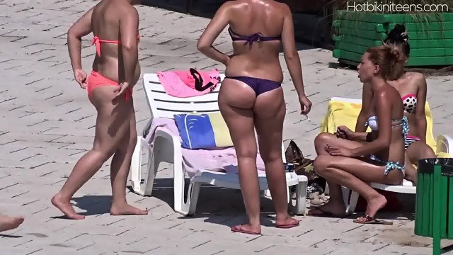 Hot Bikini Teen Babes Voyeur Beach Hd Video