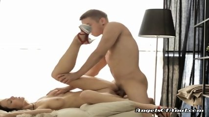 Hot And Horny Newly Weds Try Anal Sex During Honeymoon