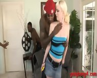 Big Tits Cherry Torn Double Pounded By Horny Black Dudes - scene 3
