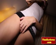 Sensual Ladyboy Shemale Models Her Ass