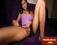 Teen Thai Ladyboy Models Her Hot Body