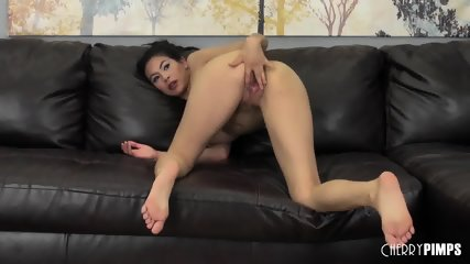 Heather Vahn Gets Fucked Hard Live - scene 5