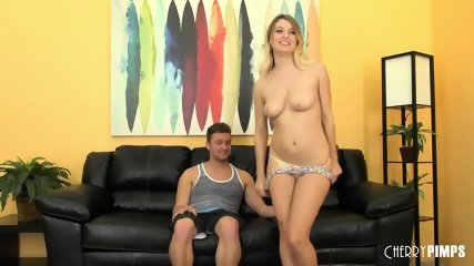 Natalia Starr Gets A Cock To Play With In A Live Show - scene 5