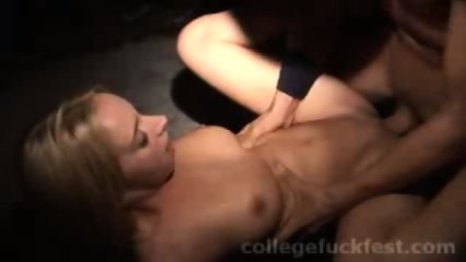A wild and crazy party that has this blonde getting fucked - scene 6