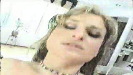 Cassandra rides a black Cock - scene 12