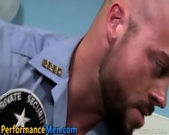 Manly Buff Cop Facializes
