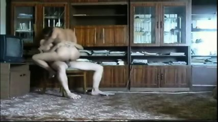 Couple having sex in the restroom - scene 9